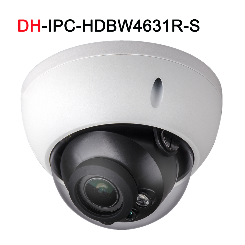 IPC-HDBW4631R-S 6MP IP Camera IK10 IP67 built-in POE SD slot cctv Multi-language camera dahua ip camera 6mp poe ipc hdbw4631r s support sd slot ir30m ik10 ip67 cctv camera english firmware