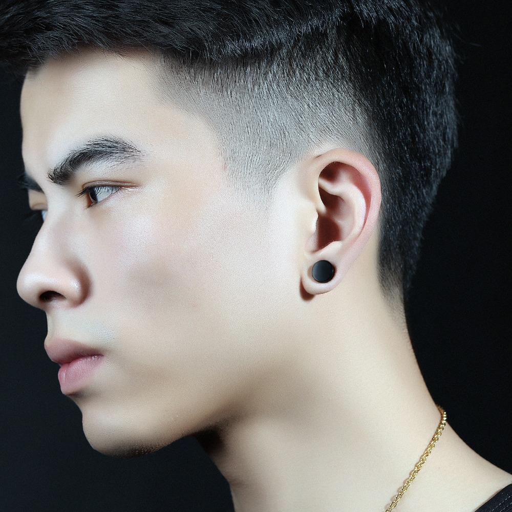 Popular Mens Disc Earrings