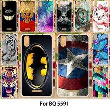 Anunob Case For BQ BQ-5591 Cases TPU Soft Silicone Cover Jea