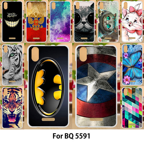 Anunob Case For BQ BQ-5591 Cases TPU Soft Silicone Cover Jeans BQ Mobile 5591 BQ5591 Covers Animal Painting Hot Selling Cover Pakistan