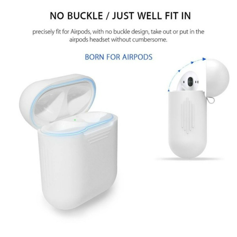Image 5 - case for airpods silicone/clean/skin TPU case for apple airpods accessories dust guard/off white airpods case transpare 17colors-in Earphone Accessories from Consumer Electronics