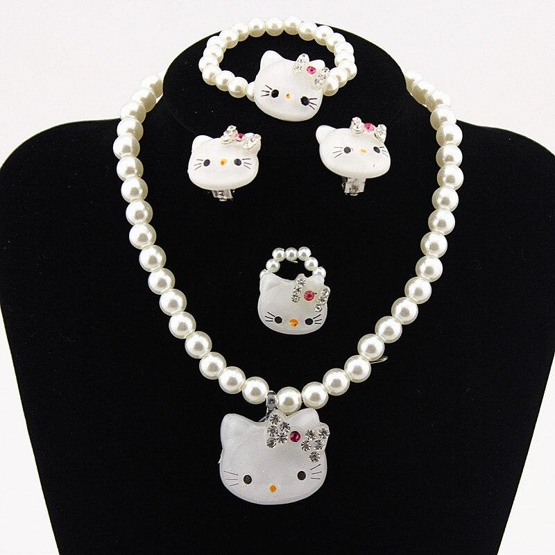 JUST N1 Fashion Jewelry Set Girls Necklace and Bracelet Set Chunky Bubblegum Beads 35