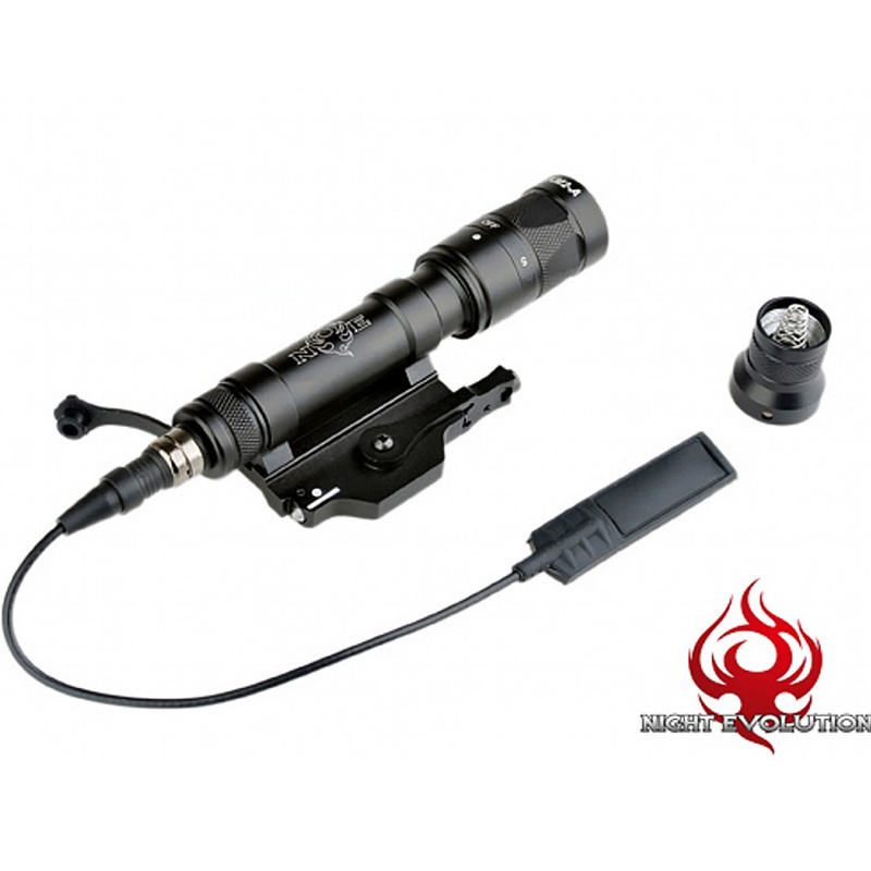 Night Evolution M620W KM2-A LED Weapon Light Tactical Flashlight Rifle Airsoft Hunting Scout Light NE04046 цены