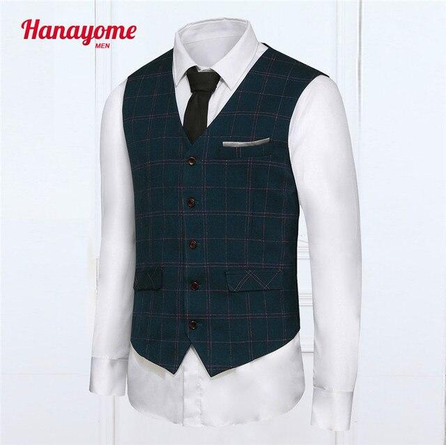 Мода мужчины жилет в тонкую полоску высокое качество мужские свободного покроя костюм V - с высоким воротником тонкий подходящие жилеты Большой размер XXL лоскутная дизайн браун