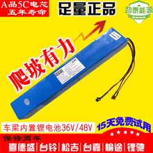 Universal 48V 10AH Lithium ion Li-ion Rechargeable chargeable battery 5C INR 18650 for electric bicycles (90KM),48V Power bank