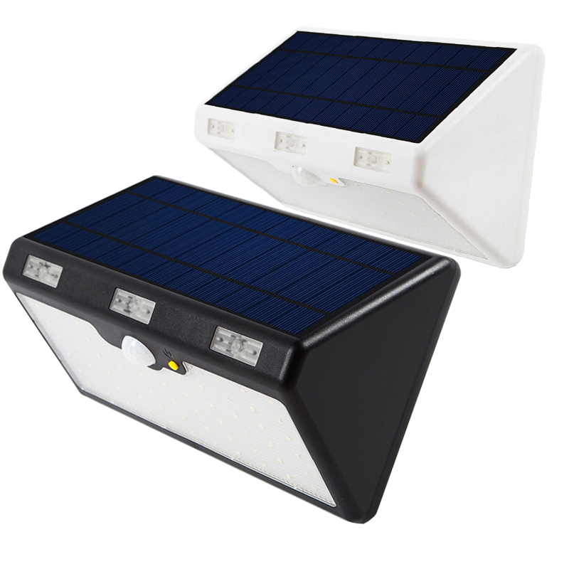Energy Saving Solar Panel LED Wall Street Lights Outdoor Home Garden Waterproof Lighting Motion Sensor Super Bright Lamp Garland emergency auto led solar panel double head lights motion sensor outdoor garden waterproof lamp spotlights super bright lighting