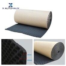X Autohaux 50*100/300/500 см Studio звуковые акустические поглощения автомобиля теплозащитная Волна пены подавитель шумоизоляция изоляционный мат