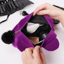 Cute Women's Zipper Cosmetic Bag