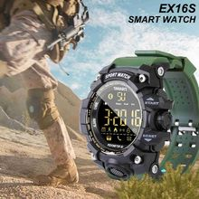 Get more info on the Men's 50M Waterproof EX16S Smart Sport Watch Bluetooth V4.0 Multifunctional Remote Control Camera Pedometer Wristwatch for Phone