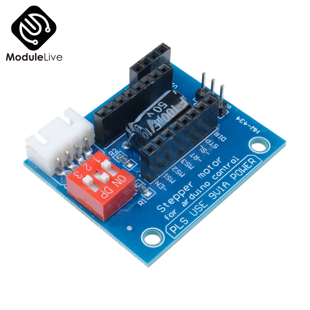 1Pcs A4988 DRV8825 Stepper Motor Driver Control Panel Board Expansion Board Module V1.1 Active Component For 3D Printer