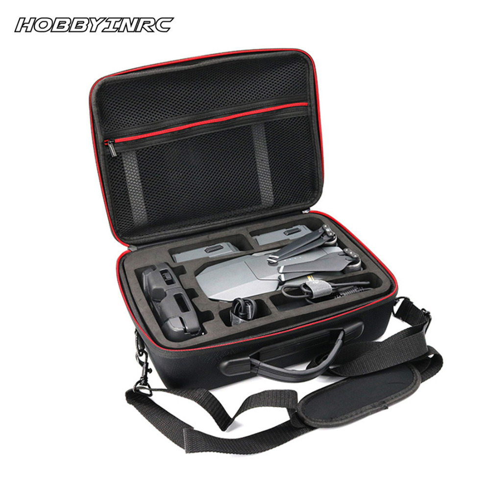 HOBBYINRC Professional Waterproof Drone Bag Outdoor Capming Handbag Portable Case Shoulder for DJI Mavic Pro spark storage bag portable carrying case storage box for spark drone accessories can put remote control battery and other parts