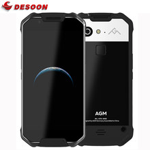 AGM-teléfono inteligente X2 SE, 6 GB de RAM, 64 GB de ROM, Android 7,1, Pantalla AMOLED FHD de 5,5 pulgadas, resistente al agua IP68, 6000mAh, SIM Dual, 16,0 MP