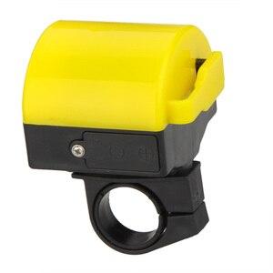 Image 5 - Yüksek kalite MTB yol bisiklet bisiklet elektronik çan Loud Horn bisiklet Hooter Siren tutucu toptan