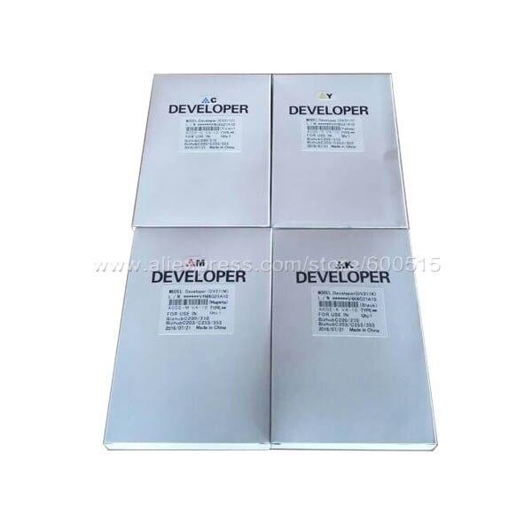 ФОТО Compatible Konica Minolta DV711 BK/C/M/Y Developer for BizhubC754/C654