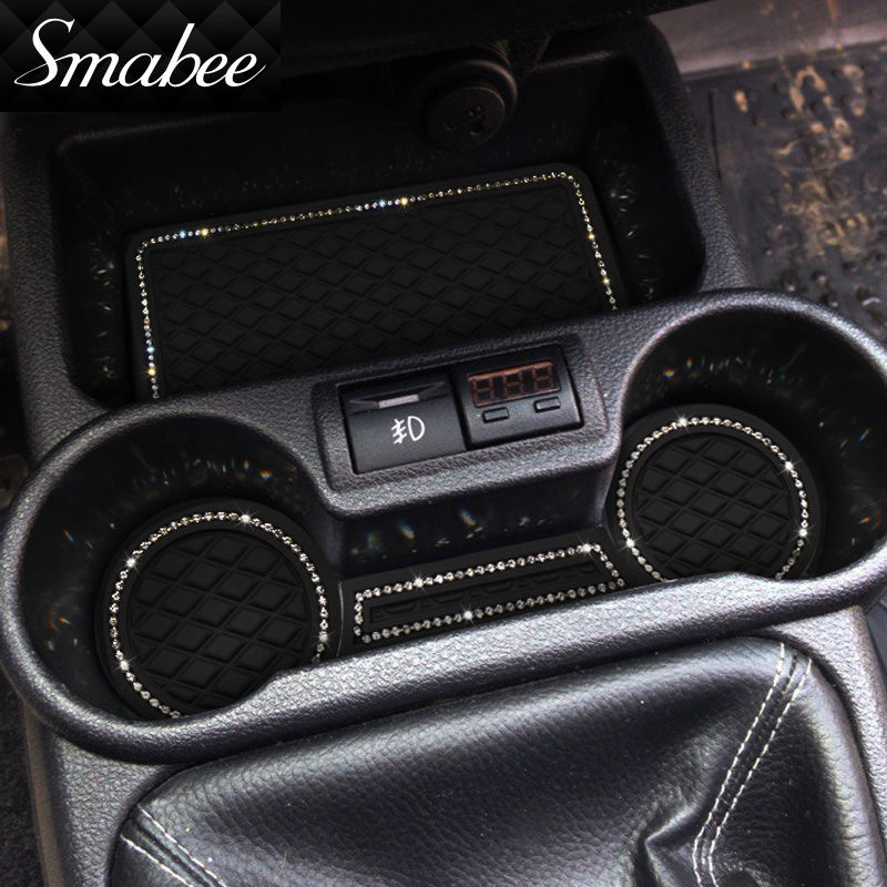 smabee Car Door Groove Mat për For Lada Kalina GRANTA Matëse - Aksesorë të brendshëm të makinave - Foto 1
