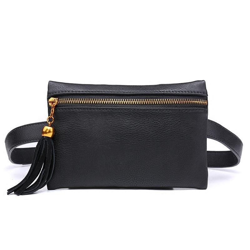 Women Waist Bag celular Korean Fashion Tassel Fanny Pack ...
