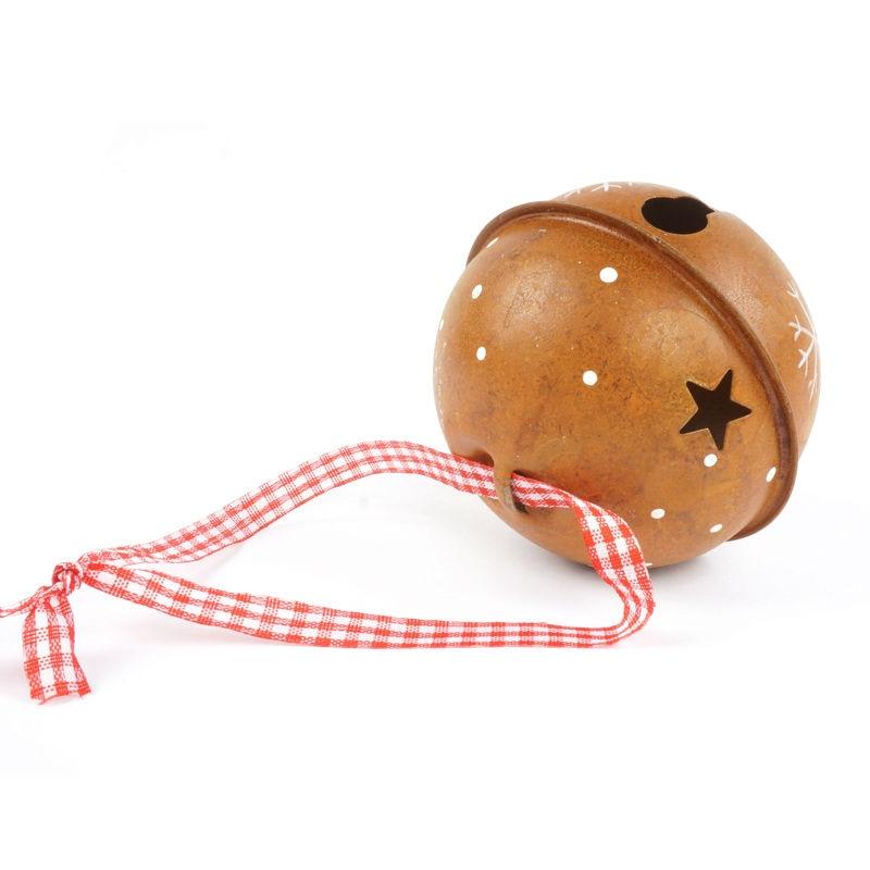 Decoración de navidad para el hogar 6 unids proceso de moho campana - Para fiestas y celebraciones - foto 4