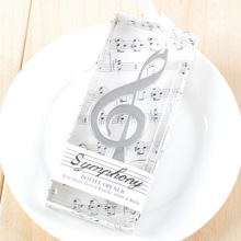 Symphony Chrome Music Note Bottle Opener Treble Clef Wedding Party Bridal Shower Favor Guest