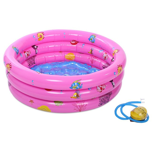 d0b0c57057 Trinuclear Inflatable Pool Baby Swimming Pool Piscina Inflavel For Newborn  Portable Outdoor Children Basin Bathtub For