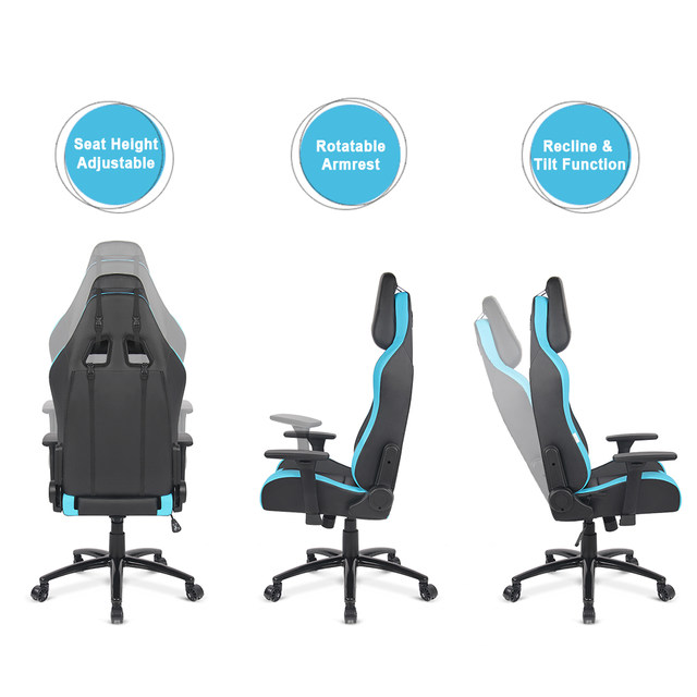 Online Shop iKayaa Stock Gaming Office Chair Computer Chair Recline Height Armrest Adjustable Swivel Function for Manager Chairs | Aliexpress Mobile  sc 1 st  Aliexpress & Online Shop iKayaa Stock Gaming Office Chair Computer Chair Recline ...