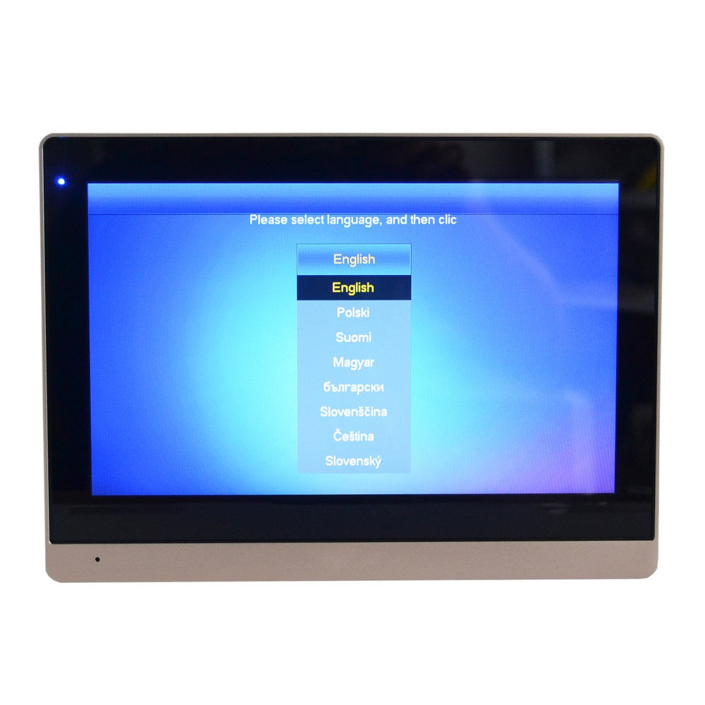 Image 4 - DH logo Multi Language VTH1660CH 10inch Touch Indoor Monitor,IP doorbell, Video Intercom,wired doorbell-in Indoor Monitor from Security & Protection