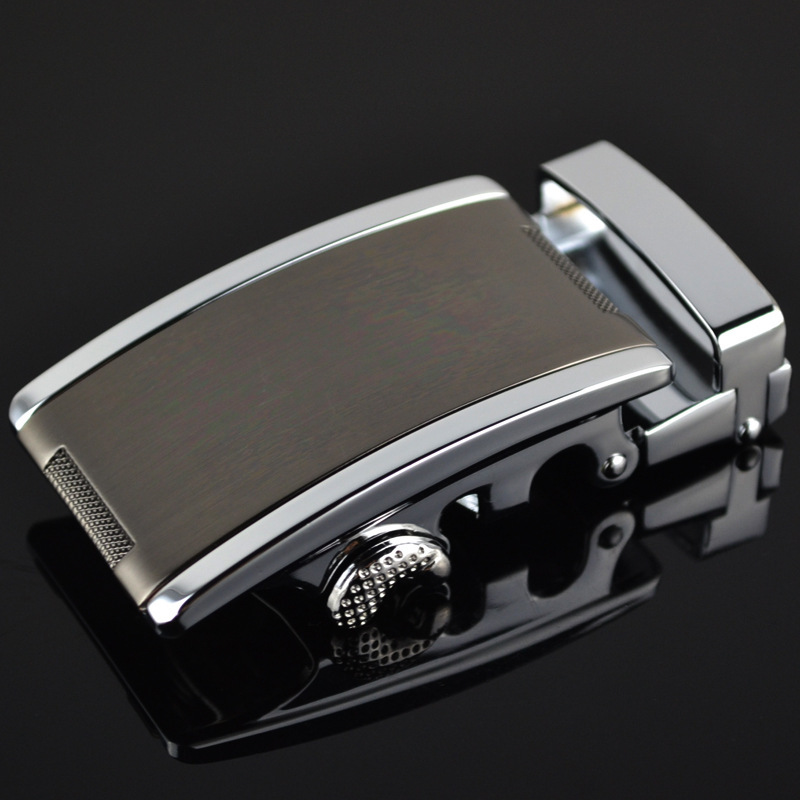 Fashion Men's Business Alloy Automatic Buckle Unique Men Plaque Belt Buckles For 3.5cm Ratchet Men Apparel Accessories LY187363