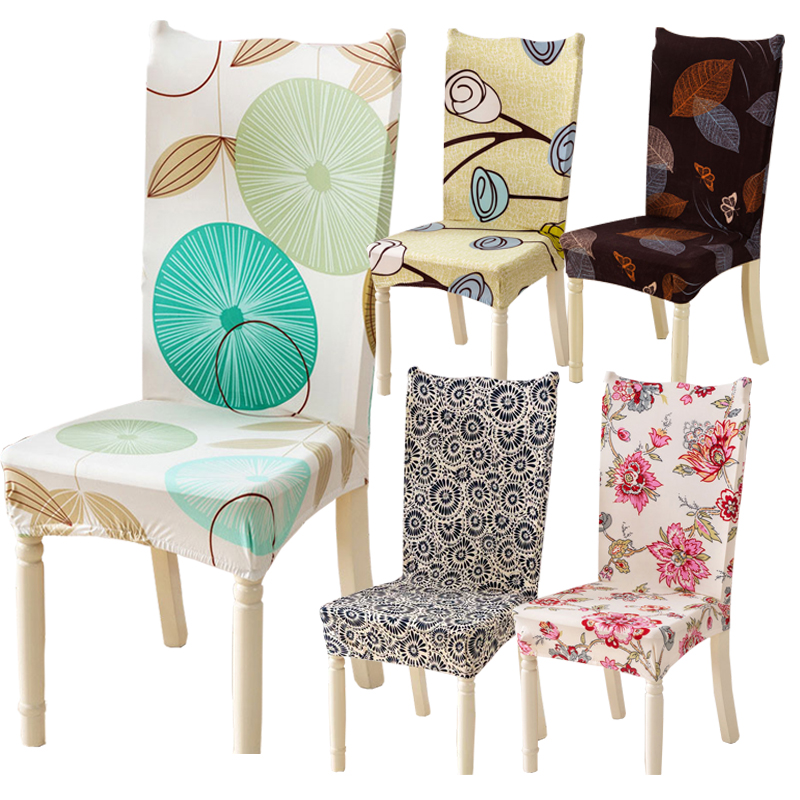 Outstanding Us 5 02 40 Off 1 Pc Spandex Elastic Mandala Plant Flower Pattern Simple Style Chair Covers Dustproof Stretch Modern Dining Party Seat Cover In Chair Creativecarmelina Interior Chair Design Creativecarmelinacom
