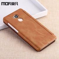 Xiaomi Redmi 4 PRO Case Flip Wallet Luxury Smooth Redmi4 Pro PU Leather Funda Mofi Original
