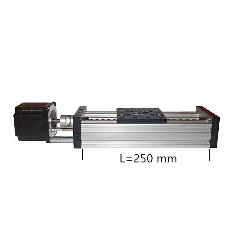 3d принтер Z оси ЧПУ поворотный стол привести винт 250 мм T8 nema23 шаговый двигатель линейный привод (bundle)