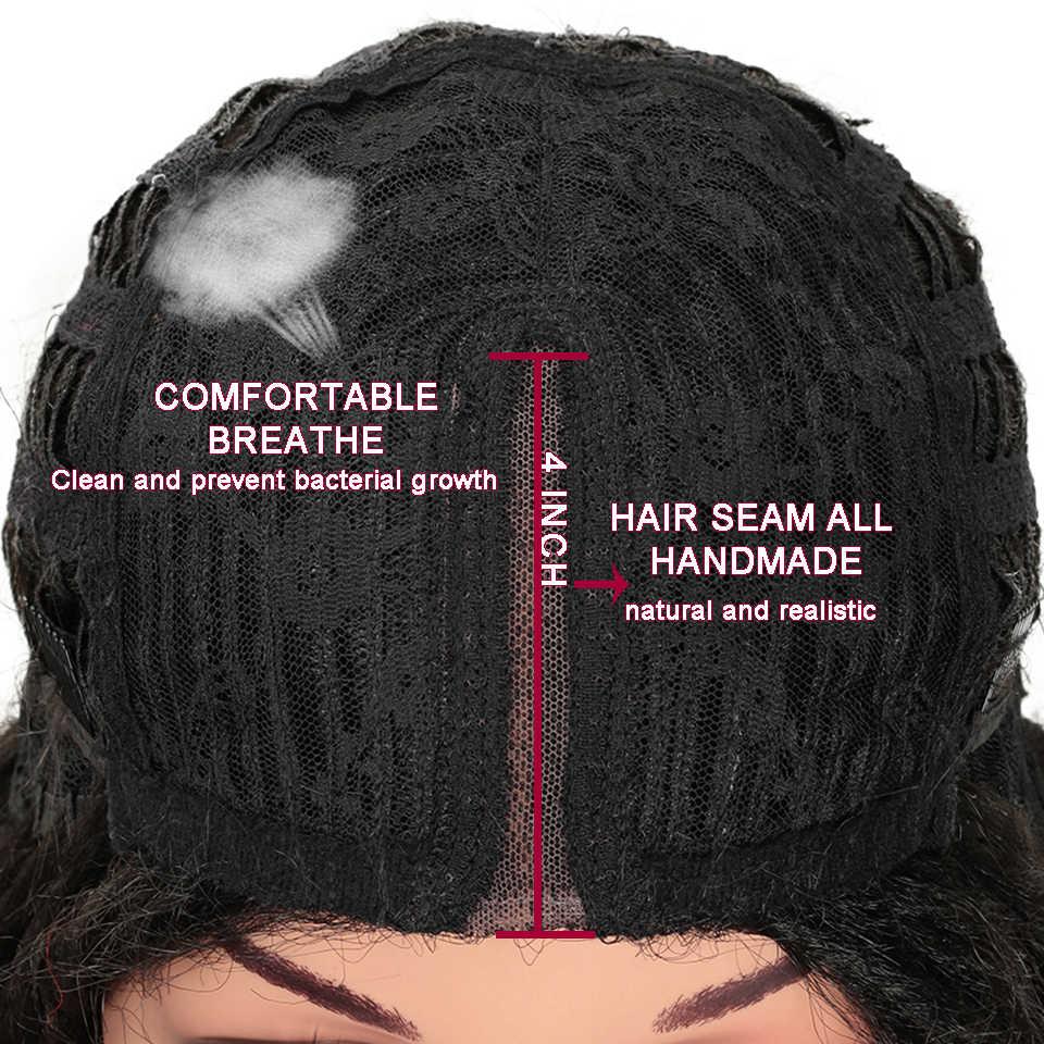 Волшебные волосы 26 дюймов Синтетические парики на кружеве для черных женщин крючком косы твист Джамбо Dread Faux locs Прическа Длинные волосы