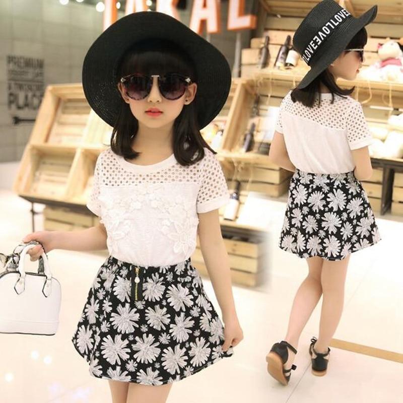 2018 Աղջիկները հագնվում են ամառային - Մանկական հագուստ