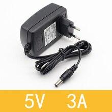 1 шт. 5 в 3A DC5.5 мм AC/DC адаптер 5V3A 3000mA адаптер питания зарядное устройство для Android tv Box SP