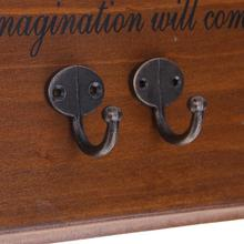 10 шт. античный цинковый сплав настенный крючок держатель для ключей вешалка для одежды аксессуары для ванной комнаты полотенце одежда Один халат