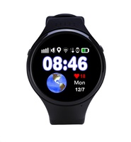Super GPS tracking watch for Children old man T88 Smart watch SOS Emergency 1.22 touch screen Anti lost WIFI LBS AGPS Location