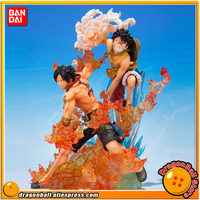 ONE PIECE Original BANDAI Tamashii Nations Figuarts ZERO Collection Figure Monkey D. Luffy & Portgas D. Ace (Brother's Bond)