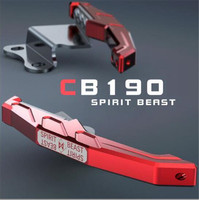 SPIRIT BEAST Motorcycle Accessories CB190 Tail Handrail CNC Aluminum Alloy Personality Rear Armrest Motorbike Styling
