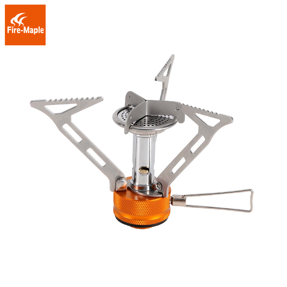 Fire Maple Outdoor Camping Backpacking Canister Stove Foldable Burner For Water Coffee Tea Meal Cooking Gas Stove FMS-103