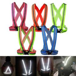 New safe reflective vest belt for women girls night running jogging biking.jpg 250x250