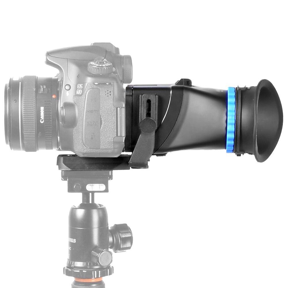 ASHANKS 5D3 5D2 SLR 3 pollice 3.2 pollice di vibrazione LCD schermo 3 ingrandimento mirino occhiali per Canon per Nikon Come QV1
