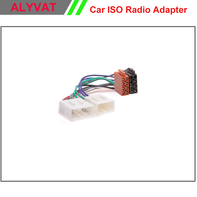 Free Shipping Car DVD CD ISO Stereo Adapter Connector For Mazda ...
