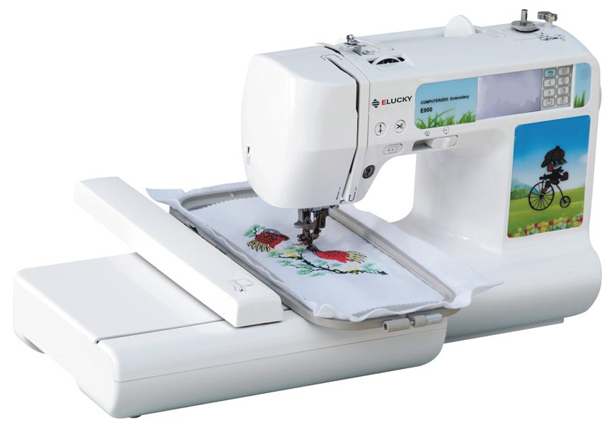 Free Shipping Household Computerized Embroidery Machine