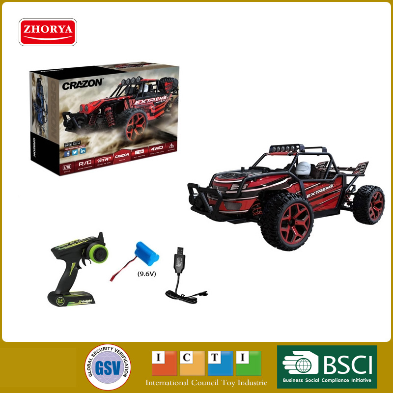 Hot 50km/h super high speed outdoor Off-road vehicle 1:18 sccale 4wd rc cars 2.4Ghz radio remote control toys model фабрика фантазий пазл для малышей рамка вкладыш животные