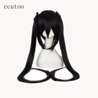 ccutoo K ON! Nakano Azusa Black /Beige 2 Color Available Straight Long Synthetic Hair High Temperature Fiber Cosplay Full Wigs
