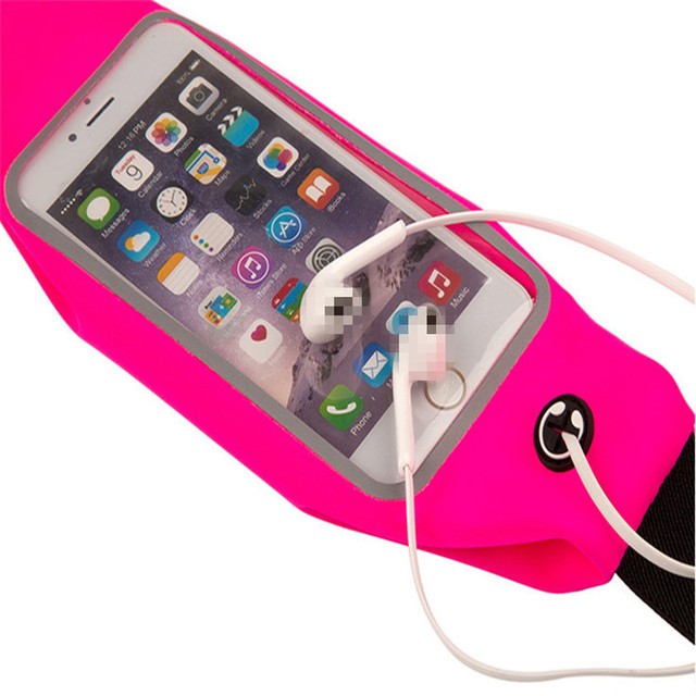 1PC Useful Sport Accessories Gym Waterproof  Waist Bag Belt Pouch Mobile Phone Case For IPhone 6 6s 7 8Plus 5 5s 5c SE Cover 5