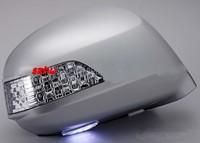Światła LED Lusterko Wsteczne Z Pokrywą, żółty Turn Signal Lampa Światła + Stóp case dla Honda Freed GB3/4 i Stepwgn RG1/2/3/4