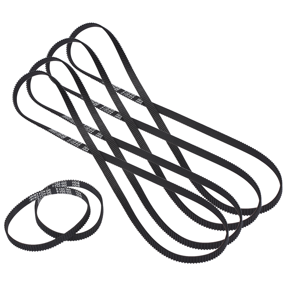3D Printer Ultimaker 2 UM2 synchronous belt closed loop rubber 4*GT2-6mm Belt 610mm 2*200mm wholesale 3d printer synchronous gt2 belt for reprap ultimaker other printer 1m length free shipping