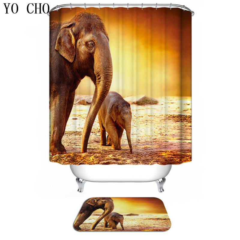 "1x Plum Flower Lotus Bathroom Decor Shower Curtain Fabric Waterproof 71X71/"""