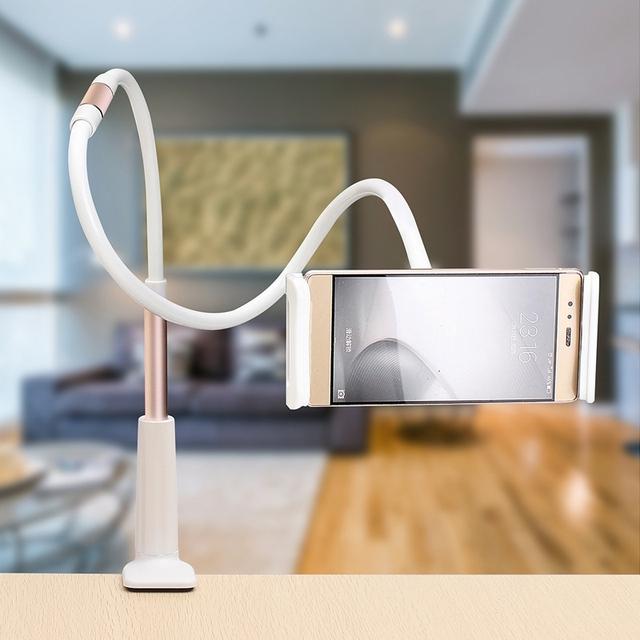 360 rotating tablet preguiçoso flexível stand holder mount suporte universal tablet stand holder para 7-11 de polegada de telefone tablet para ipad
