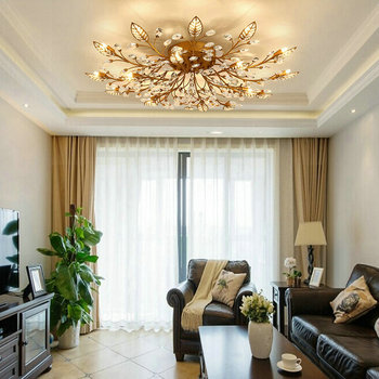 Современные потолочные светильники для гостиной, спальни, кухни