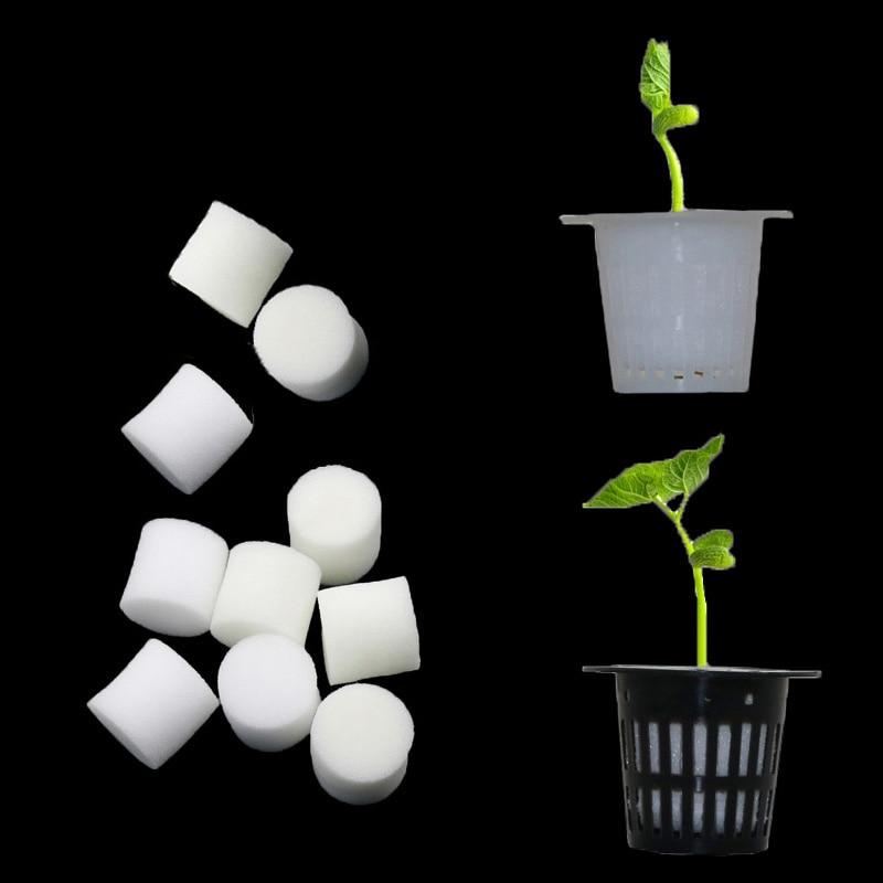 Soilless гидропоники овощи кассеты для рассады питомник губка цветок семена выращивание Soilless губки для растений поддоны для семян